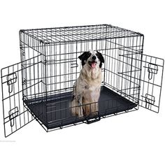 ALEKO 24 Inch 2 Doors Folding Suitcase Dog Cat Crate Cage Kennel With ABS Tray *** You can get additional details at the image link. (This is an affiliate link) #SmallAnimals