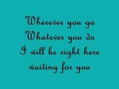 Richard Marx- Waiting for you Lyrics