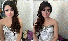 Hairdo for prewedding