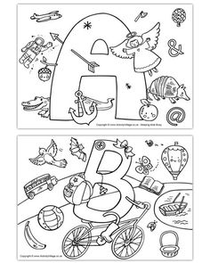 Spy Kids Coloring Pages Beautiful I Spy Alphabet Colouring Pages Alphabet Phonics, Alphabet Crafts, Alphabet For Kids, Letter A Crafts, Free Printable Alphabet Worksheets, Abc Worksheets, Coloring Worksheets, Alphabet Activities, Toddler Activities