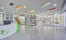 Mazis Marios pharmacy by Lefteris Tsikandilakis, Pireaus – Greece » Retail Design Blog