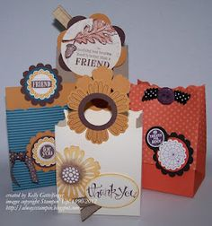 Always Stampin' with Kelly Gettelfinger: Ideas for the Fancy Favor Die