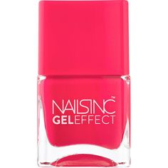 Nails inc Gel Effect Nail Polish, Covent Garden 0.47 oz (14 ml) ($15) ❤ liked on Polyvore featuring beauty products, nail care, nail polish, nails, beauty, makeup, fillers, gel nail care, nail varnish and gel nail color