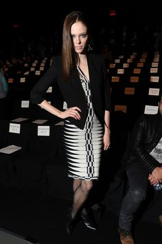 coco rocha/mercedes-benz fashion week