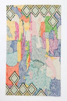 Crewel Abstraction Rug | Anthropologie.eu