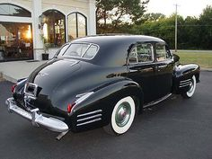 1941 Cadillac Model 62: 4-door sedan