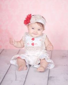 It is trimmed with soft stretchy lace, ruffles, and rosettes. Cute Girl Outfits, Girly Outfits, First Girl, My Girl, Baby Wedding, Spring 2014, Baby Pictures, Wedding Bells, Flower Girl Dresses