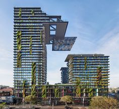 one central park by jean nouvel features lush vertical gardens