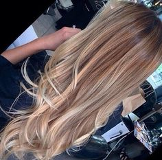 By far my most favorite hair color. Natural looking ombré or a dark blonde color…