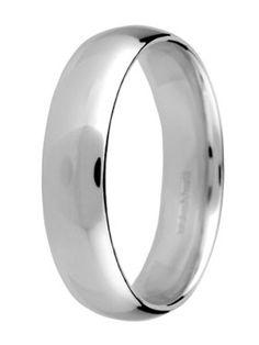court platinum mens wedding ring