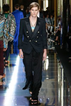 Balmain Spring 2017 Menswear Collection Photos - Vogue