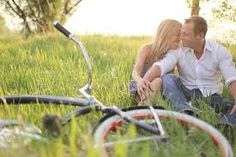 bicycle engagement photos - Google Search