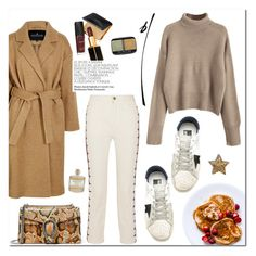 """""""Camel"""" by mjangirashvili ❤ liked on Polyvore featuring Chloé, Designers Remix, Golden Goose, Library of Flowers, Tom Ford and Gucci"""