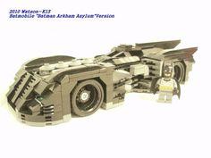 "Batmobile ""Arkham Asylum"" Version: A LEGO® creation by Watson K13 : MOCpages.com"