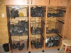 tack room organizing