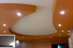 """Look at """"Before & After"""" change this living room!   Do completely different ceiling in this room"""