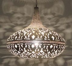 Moroccan Hanging Lamp | Moroccan Pendant Light | Lantern Pendant Lighting - E Kenoz