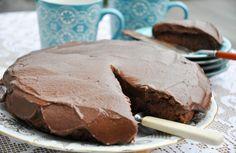 For de som elsker sjokolade - Vektklubb Healthy Sweet Treats, Healthy Cake, Vegan Cake, Healthy Sweets, Norwegian Food, Norwegian Recipes, Food Cakes, What To Cook, Dairy Free Recipes