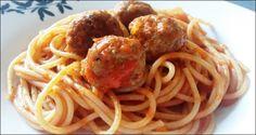 Stanley Roy informa: Espaguetis con albóndigas
