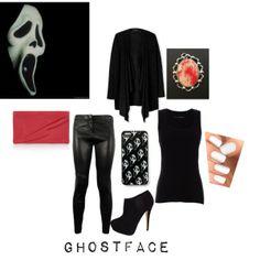 """Scream/GHOSTFACE"" by xmelissathomasx on Polyvore"