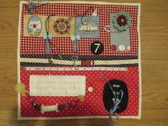 Fidget lap quilt, sensory, dementia stimulation quilt
