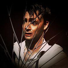 David Tennant in Hamlet.