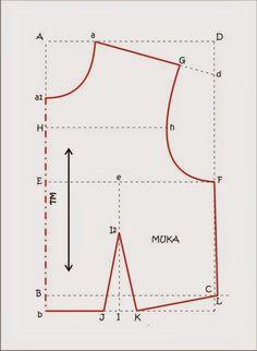 UKURAN YANG DIBUTUHKAN :                   LB      :      88   cm      LPu      :      34   cm         LPi      :      64   cm      TD ...