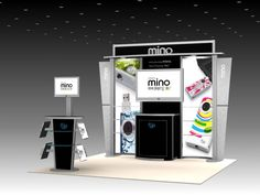simple trade show design - Google Search