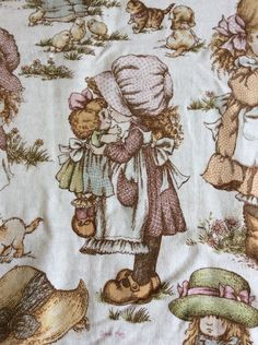 A Pair Of Sarah Kay Vintage Childrens Curtains 44 x 72 in Home, Furniture & DIY, Curtains & Blinds, Curtains & Pelmets | eBay