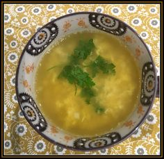 Gluten Free A-Z : Weight Watchers 1 Smart Point Soup that is absolutely Delicious Egg Drop Soup, Gluten Free Soup, Cauliflower Soup, Bowl Of Soup, Palak Paneer, Cabbage, Low Carb, Healthy Recipes, Ethnic Recipes