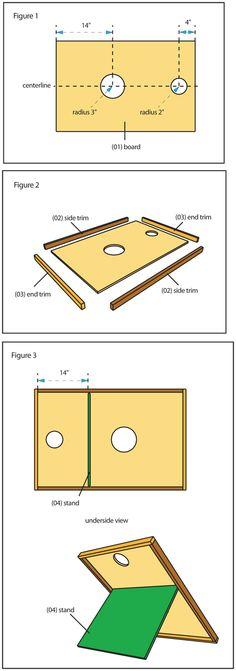 Yard Toss Game Board - Lowe's Creative Ideas