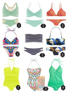 Feeling Good In Your Skin – 2014 Swimwear Guide