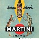 Vintage Adv Martini