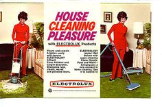 House Cleaning Electrolux Floor Products-Vacuum-Vintage Advertising Postcard