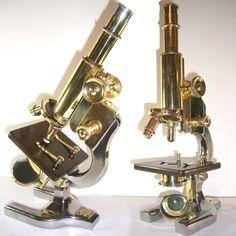 1917 Spencer Brass Microscope