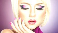 Beautiful woman Makeup, Pink Makeup, Makeup face, Makeup model, Women Eyes Makeup   Makeup Trends Pink Makeup, Face Makeup, Sexy Nails, Professional Makeup, Concealer, Makeup Brushes, Eyebrows, Natural Beauty, Blush