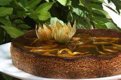 Cuinant: Cheesecake de Chocolate y Naranja