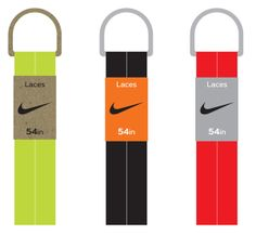 Nike Shoe Lace Packaging by Laura Rybka, via Behance