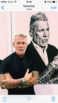 Nick Wooster, silver fox