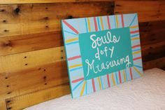 Souls Defy Measuring Canvas by DelightedTreasures on Etsy, $28.00