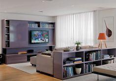Mesa atrás do sofá? 5 formas de usar na sua casa | Tallita Lisboa Blog