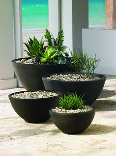 Crescent Garden Delano Planters in Old Bronze