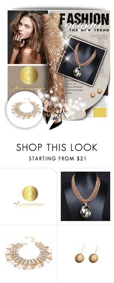 """""""Angieberrys"""" by zeljanadusanic ❤ liked on Polyvore featuring By Terry and Georges Hobeika"""