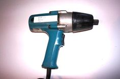 """Makita 1/2 inch electric Impact wrench  SPECIFICATIONS Capacities: Square drive 1/2""""; Bolt drive 1/2"""" - 3/4"""" Impacts per minute: 2,000 No load speed: 1,700 rpm Max. Torque: 217 ft.lb"""