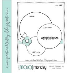 Mojo Monday 525 Card Sketch by Julee Tilman. Greeting Card Template, Card Templates, Greeting Cards, Peach And Green, Sketch Ideas, Card Making Techniques, Journal Layout, November 2019, Sketch Design