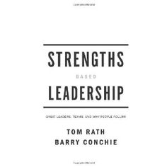 Great book on how to leverage your strengths to lead, inspire, motivate and empower people
