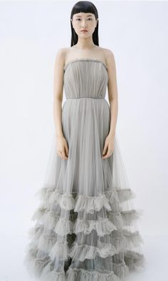 Tulle dress in Olive Trulace Artistry