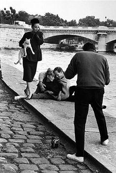 Audrey Hepburn, Mel Ferrer and Richard Avedon by Henry Wolf, 1959
