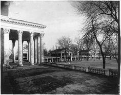 Photo-University-of-Virginia-Charlottesville-VA-c1922-Grounds