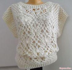 Discover thousands of images about Color Weave Wrap Crochet Doily Rug, Love Crochet, Filet Crochet, Easy Crochet, Crochet Baby, Knit Crochet, Crochet Jumper Pattern, Crochet Jacket, Crochet Blouse